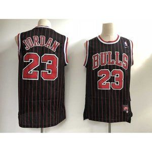Chicago Bulls Michael Jordan Black Jersey